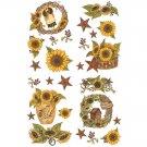 Sunflower Crocks