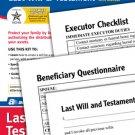 Last Will & Testament  Windows & Mac Software Forms