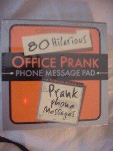 Office Prank Phone Message Pad Prank Phone Messages