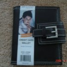 New Credit Card Wallet & Currency Holder Brown & Pink