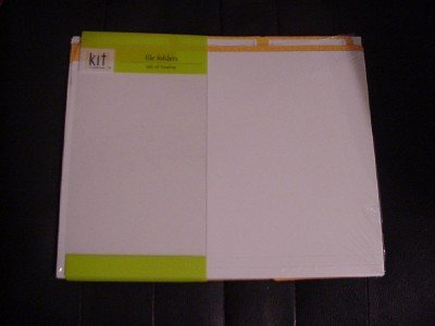 12 File Folders Office Scrapbooking Home Business New