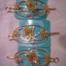 3 New Hair Pins Ties Jewelry  From Claires