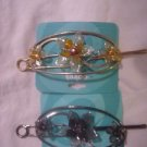"2 New in Package Hair Pins Ties From Claire""s"
