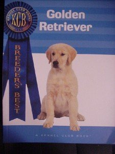 Golden Retriever Dog Kennel Club Book New