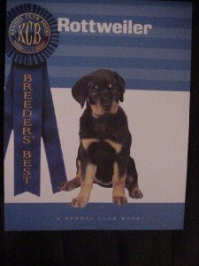 Rottweiler Kennel Club Book Victor Clemente New