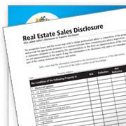 Real Estate Sales Disclosure Forms Document Home Sell