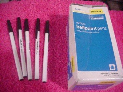 53 Office Maxx BallPoint Pens  Medium Point