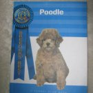 Kennel Club Book Poodle New DOG