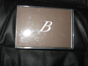 "Blank Note Cards W/ Initial ""B""  ENVELOPES Stationery"