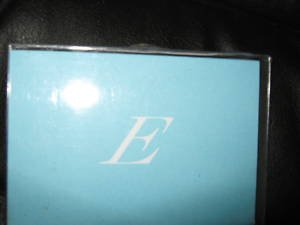 """Blank Note Cards w/ Initial """"E""""  ENVELOPES Stationery"""