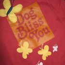 "Dog Shirt Large New "" Dog Bliss You """