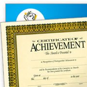 Certificate of Achievement Blank Forms