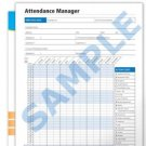 Attendance Manager Blank Forms Employee Hours