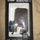 New Blackberry Pearl 8100 Brown Leather Case With Clip