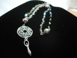Lunar Moon Goddess Prayer Beads (Circle)
