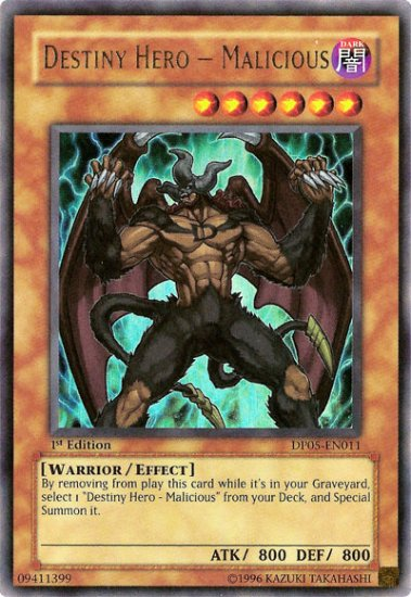 Destiny Hero Malicious *Virtual Card for PC game*