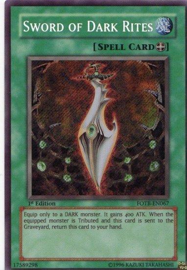 Sword of Dark Rites *Virtual Card for PC game*