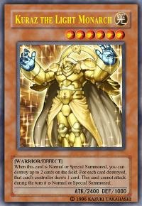 Kuraz the Light Monarch *Virtual Card for PC Game*