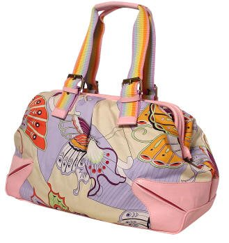 Funky pink hand bag