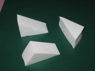 Latex Free Triangular Makeup Sponges (Qty: 10)