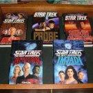 14 Hardcover Star Trek Books: TNG, Enterprise,Original