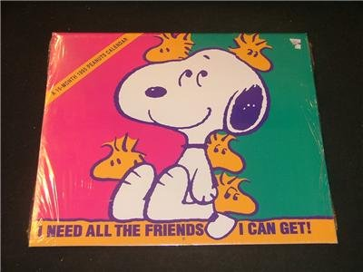 16 Month 1995 Peanuts Calendar NEW