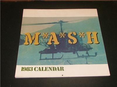 1983 MASH calendar