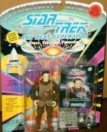 1993 Rare Star Trek Space Cap Lore Action Figure