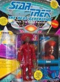 1993 Star Trek Guinan Action Figure