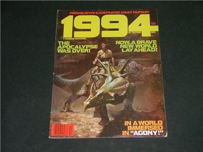 1994 Illustrated Adult Fantasy Magazine Comic Dec. 1980