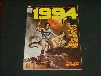 1994 Illustrated Adult Fantasy Magazine Comic June 1981