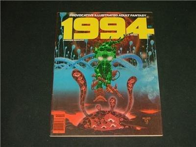 1994 Illustrated Adult Fantasy Magazine Comic Oct. 1980