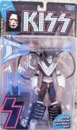 1997 KISS Ultra Action Figure with Letter Base - Ace Frehley