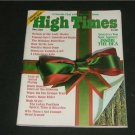 3 High Times Magazines Dec '75 Double Xmas Issues Exc.