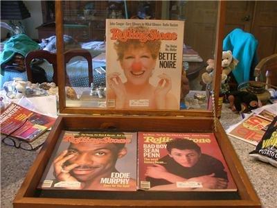 3 Rolling Stone Magazines May July Dec 82 83 Sean Penn