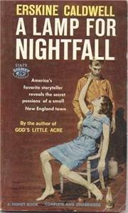 A Lamp for Nightfall, Erskine Caldwell, pb 1959
