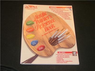 Acrylic Painter's Reference Book, beginners, tole paint