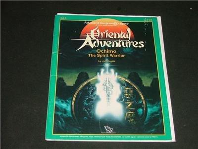 Advanced Dungeons & Dragons Advanced 9195 TSR Ochimo