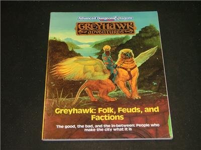 Advanced Dungeons & Dragons GreyHawk Adventures