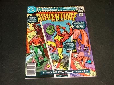 Adventure Comics #477 Nov '80 Plastic Man.Aquaman,Star