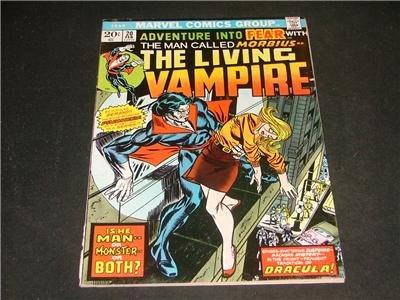 Adventure Into FEAR #20 1st Morbius Feb '74