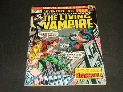 Adventure Into FEAR #27 Morbius Apr '75