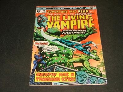 Adventure Into FEAR #29 Morbius Aug '75