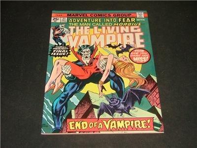 Adventure Into FEAR #31 Morbius Dec '75