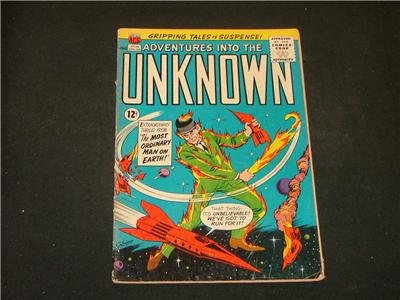 Adventures Into The Unknown #148 May '64 Costanza Art