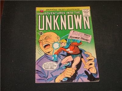Adventures Into The Unknown #160 Nov '65 Chic Stone Art