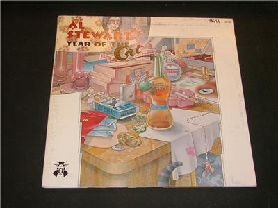 AL STEWART YEAR OF THE CAT 1976 JANUS Record ROCK LP