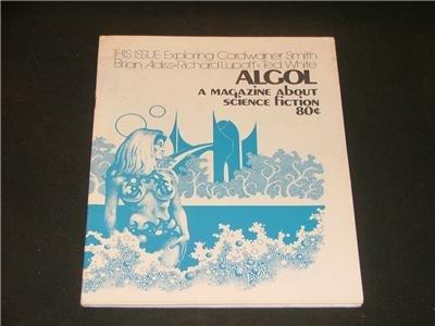 ALGOL Magazine Smith, Aldiss,Lupoff, White #20 1973