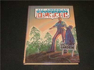 All American Hippie Comix 1994 1st print Victory Garden