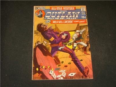 All-Star Western #6 Jul '71 Billy The Kid, Wild Bill